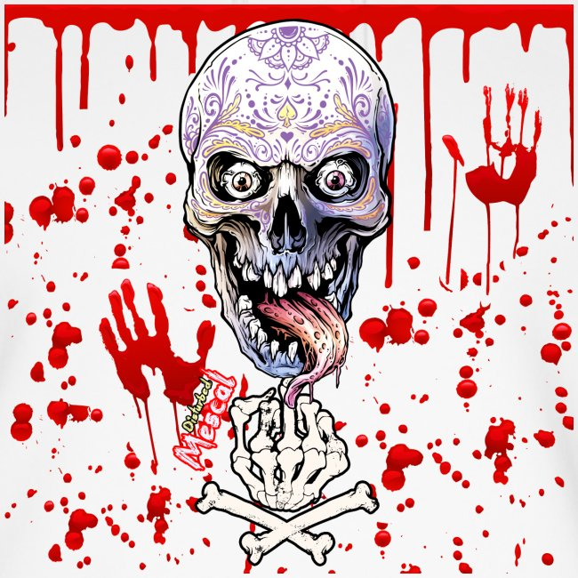 D.I.S.T.U.R.B.E.D. by Mescal - Teschio e sangue