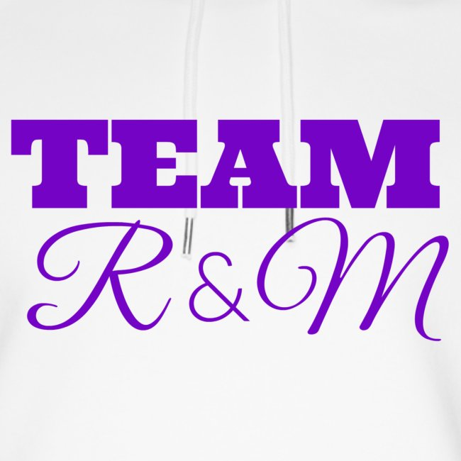 Team R N M Hoodie Purple, W
