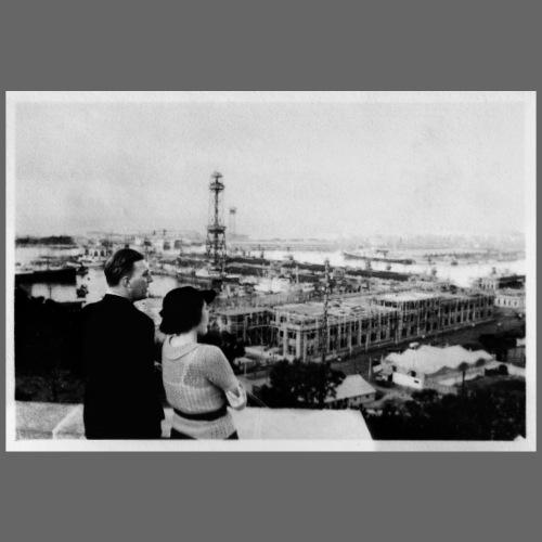 Foto | Vintage | Mann und Frau mit Aussicht