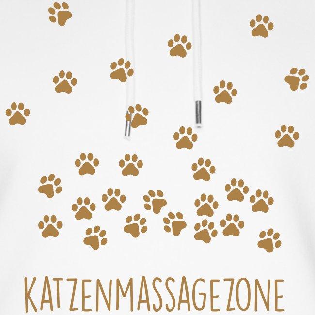 Vorschau: Katzen Massage Zone - Unisex Bio-Hoodie von Stanley & Stella
