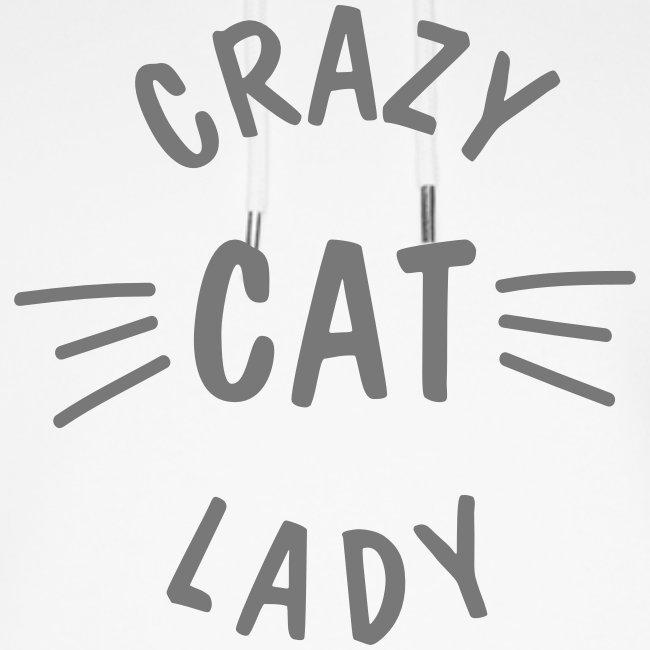 Vorschau: Crazy Cat Lady meow - Unisex Bio-Hoodie von Stanley & Stella