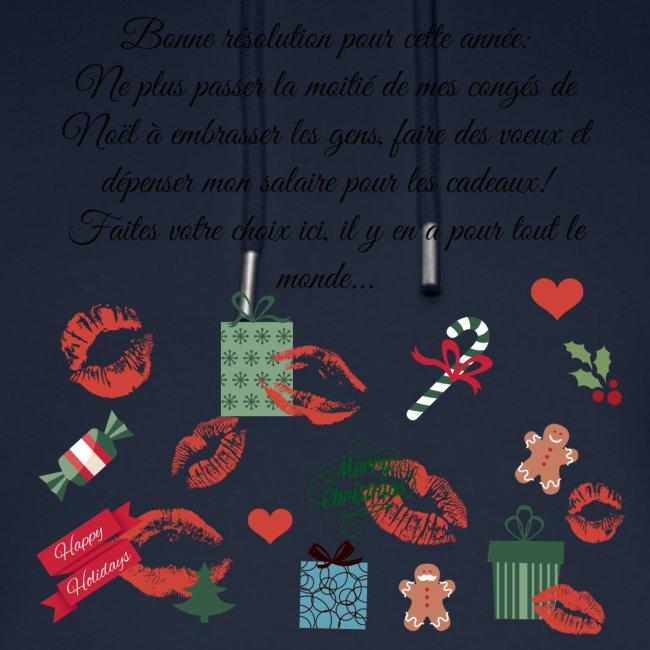 Bonne resolution Noël Nouvel An