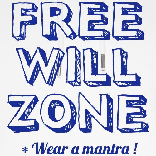 FREE WILL ZONE - Felpa con cappuccio ecologica unisex di Stanley & Stella