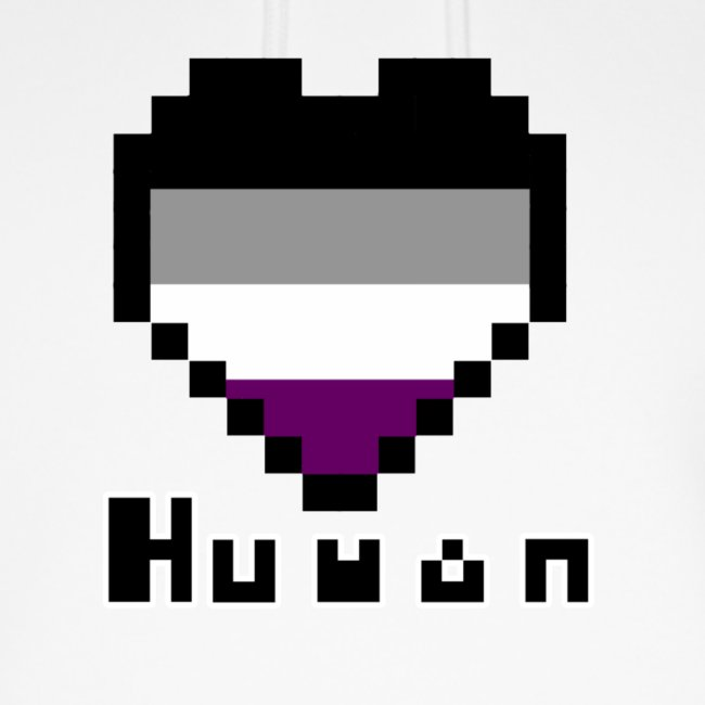 Pride heart asexual