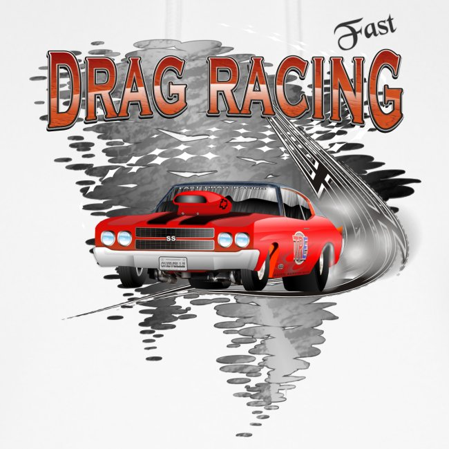 Dragster / Drag Racing Motiv mit Chevy Chevelle