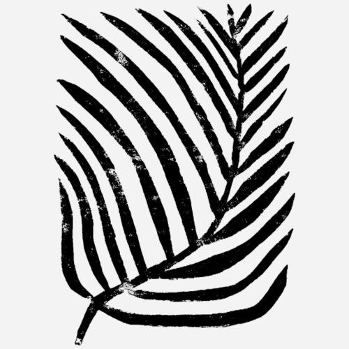 Pflanze | Plant Linoldruck von Clarissa Schwarz