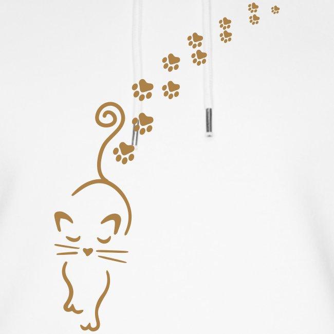 Vorschau: catwalk cat - Unisex Bio-Hoodie von Stanley & Stella