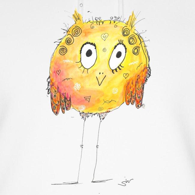 Happy yellow bird