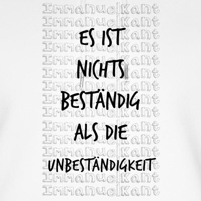 Beständig Immanuel Kant Zitat Spruch Geschenk Idee