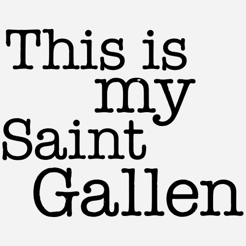 This is my Saint Gallen - Unisex Bio-Hoodie von Stanley & Stella