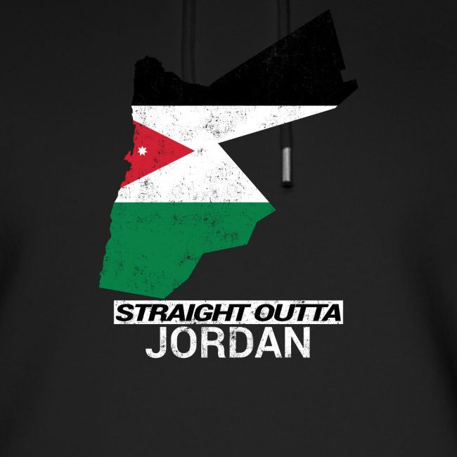 Straight Outta Jordan country map