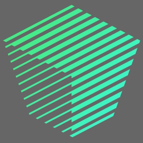 KUBUS Signature_greenfade - Unisex Bio-Hoodie von Stanley & Stella
