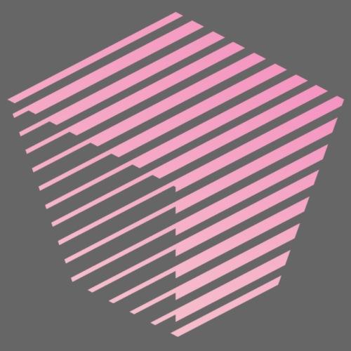 KUBUS Signature_pinkfade - Unisex Bio-Hoodie von Stanley & Stella