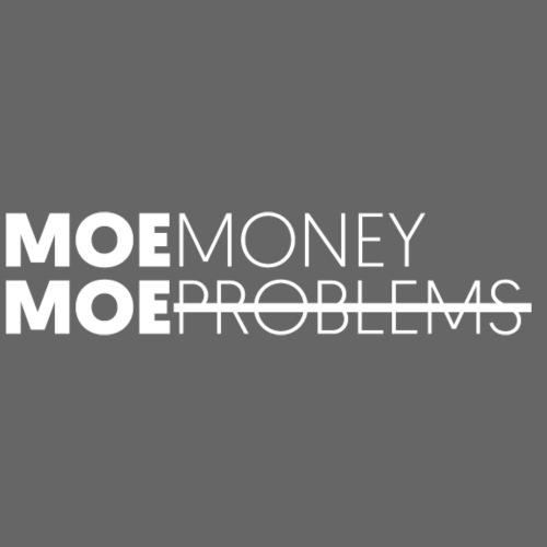 MOEMoneyMoeproblems WHITE - Unisex Bio-Hoodie von Stanley & Stella