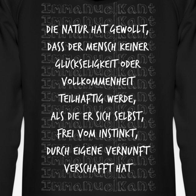 Glück Immanuel Kant Zitat Spruch Geschenk Idee
