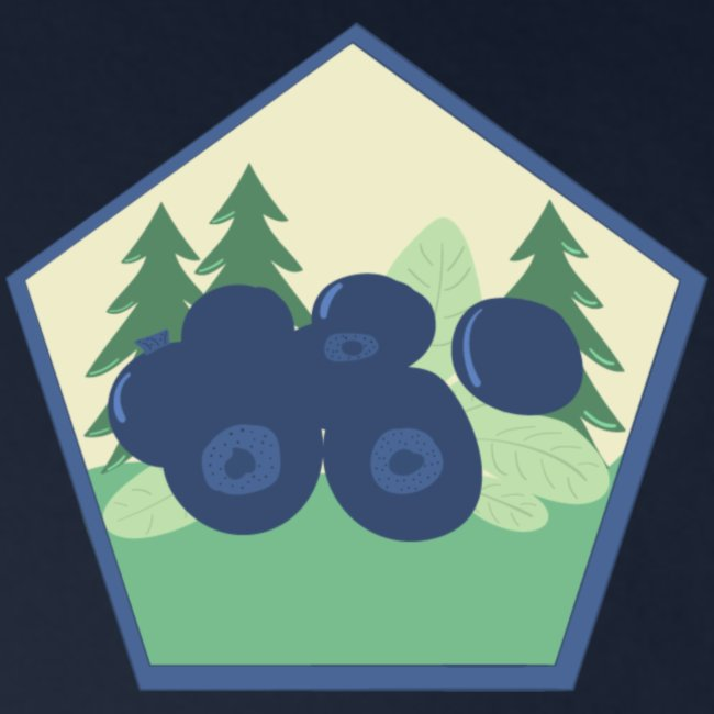 The blueberry forest