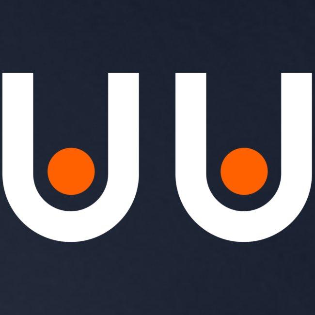 Brajuu icon (weiß/orange)