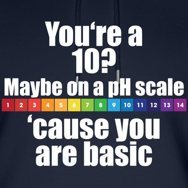 Chemistry Joke pH-Skala