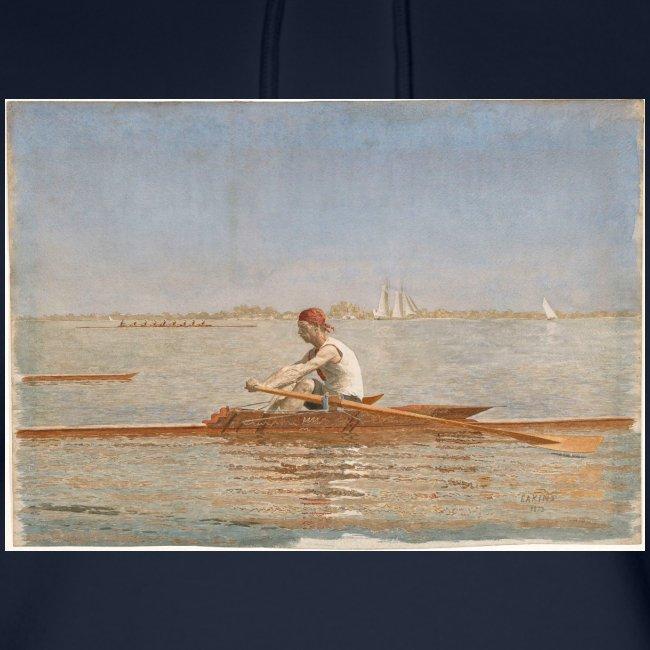 John Biglin in a Single Scull - Thomas Eakins