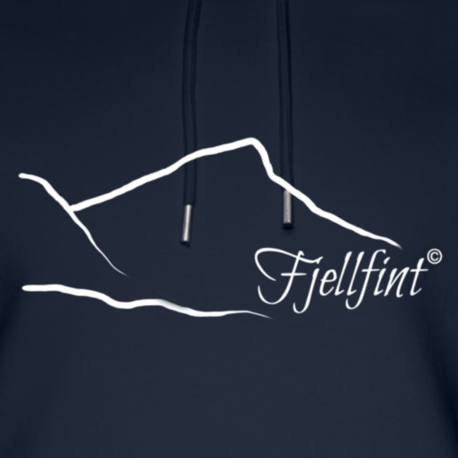 Fjellfint m/hvit logo