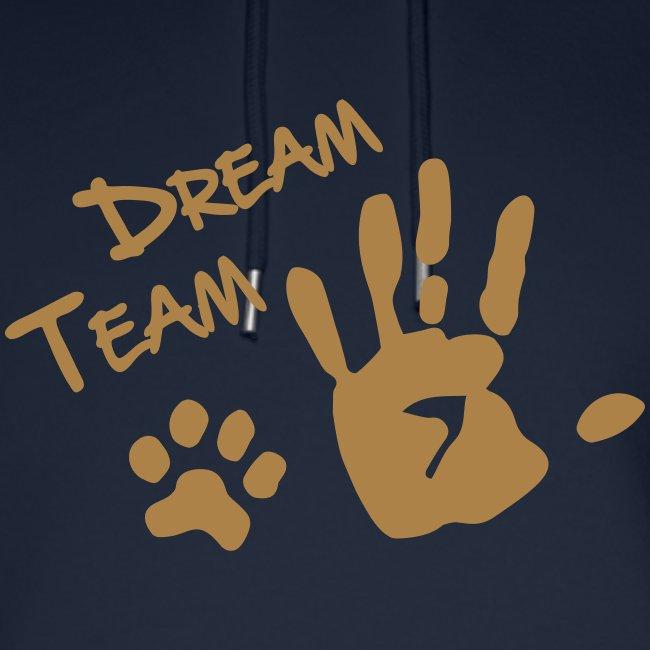 Vorschau: Dream Team Hand Hundpfote - Unisex Bio-Hoodie von Stanley & Stella