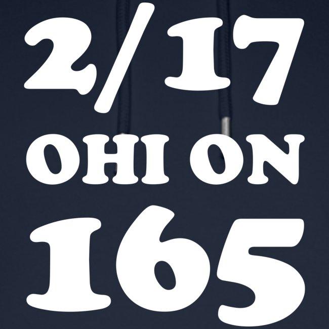 2/17 Ohi on 165