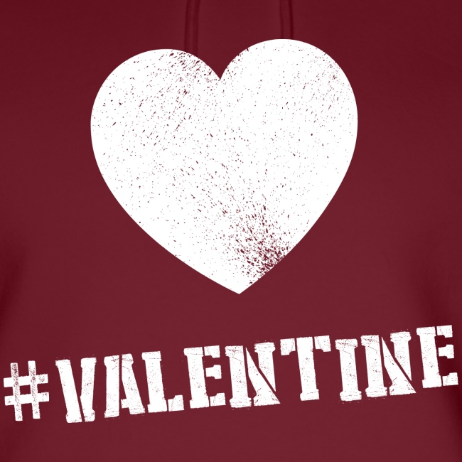 Hashtag Valentine Woman