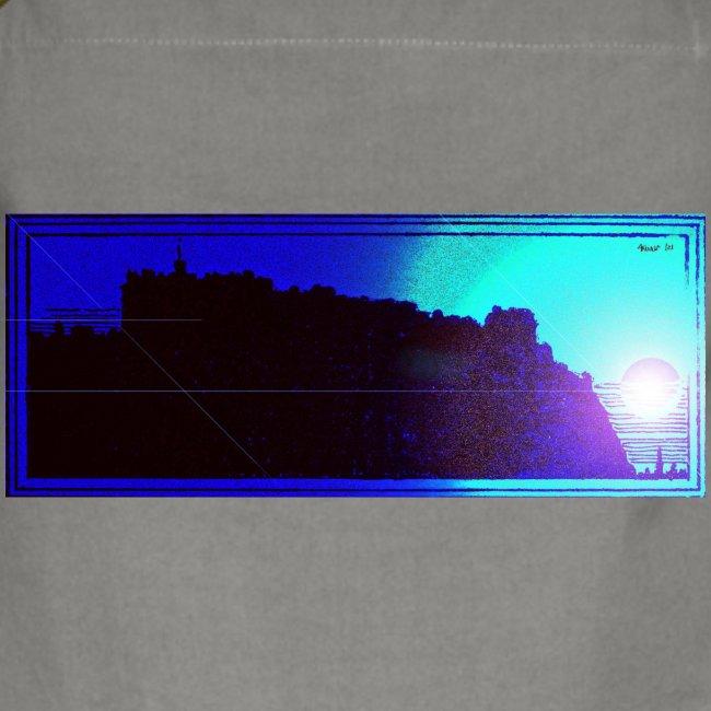 Silhouette of Edinburgh Castle