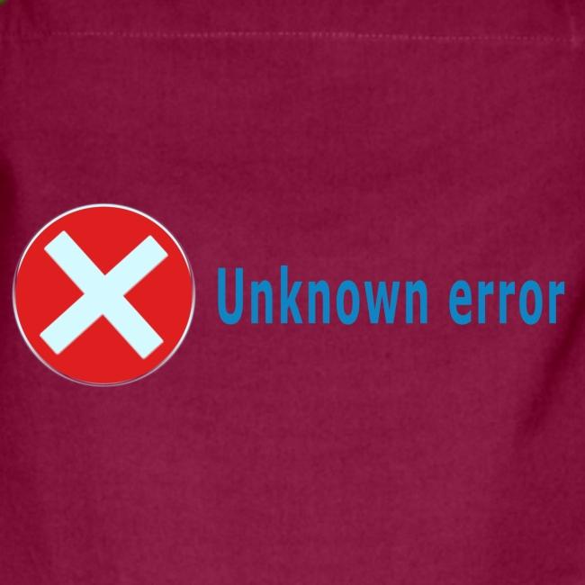 Unkown Error