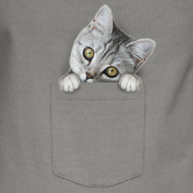 Vorschau: cat pocket - Kontrastschürze