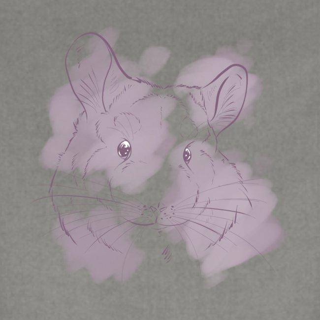 Violet splash chinchilla 2