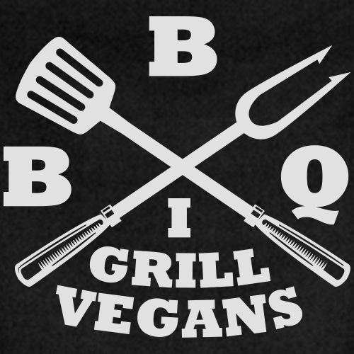 Je barbecue végétaliens grill (BBQ) - Tablier contrasté