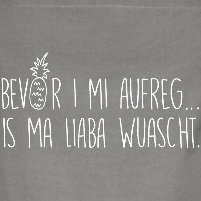 Vorschau: Bevor i mi aufreg is ma liaba wuascht - Kontrastschürze