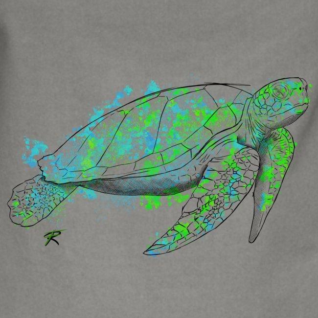 Sea turtle color