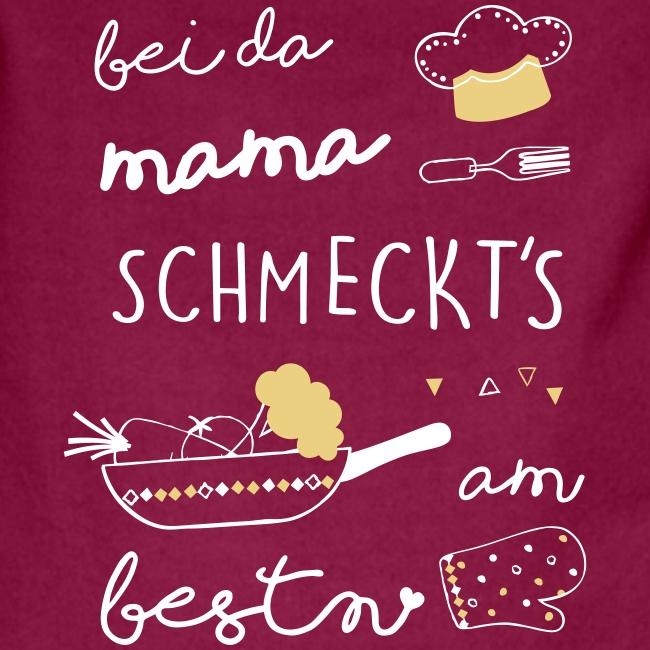 Vorschau: Bei da Mama schmeckts am bestn - Kontrastschürze