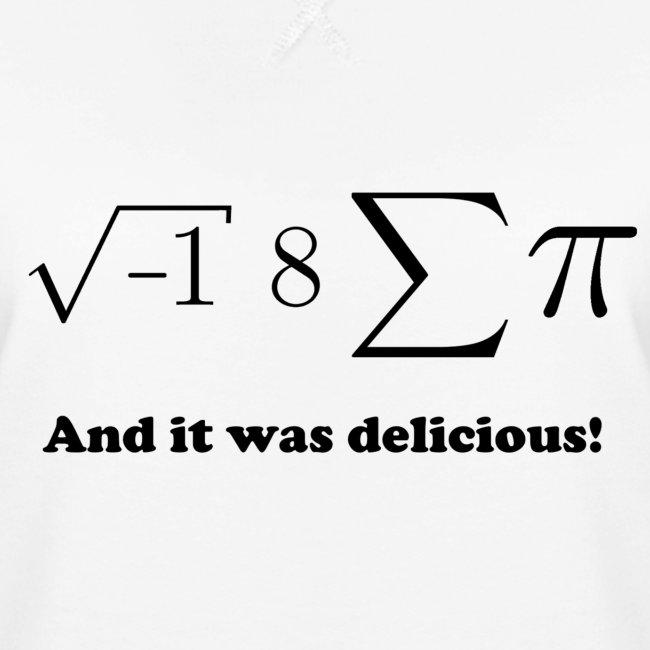 I ate some pie