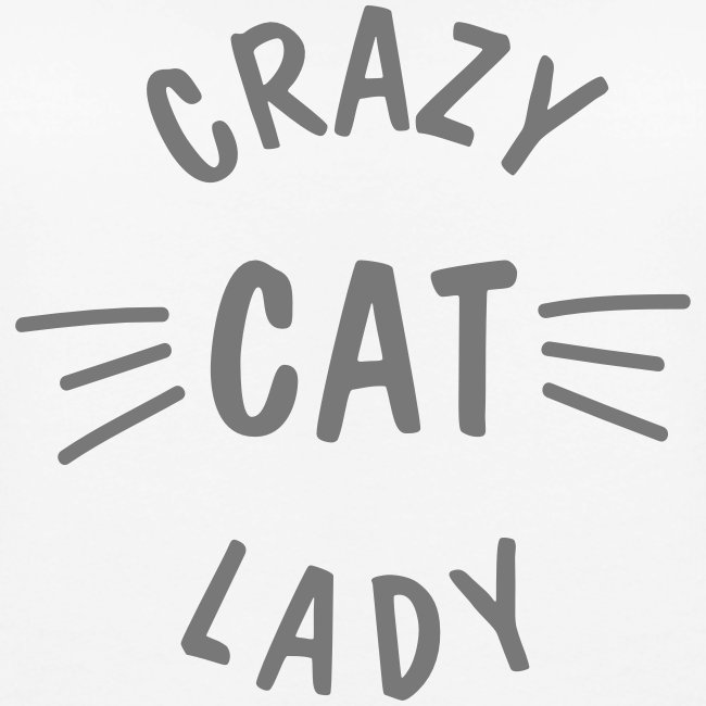 Crazy Cat Lady meow - Frauen Premium Pullover