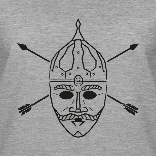 Cuman helmet with arrows