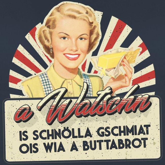 Vorschau: A Watschn is schnö gschmiat - Frauen Premium Pullover