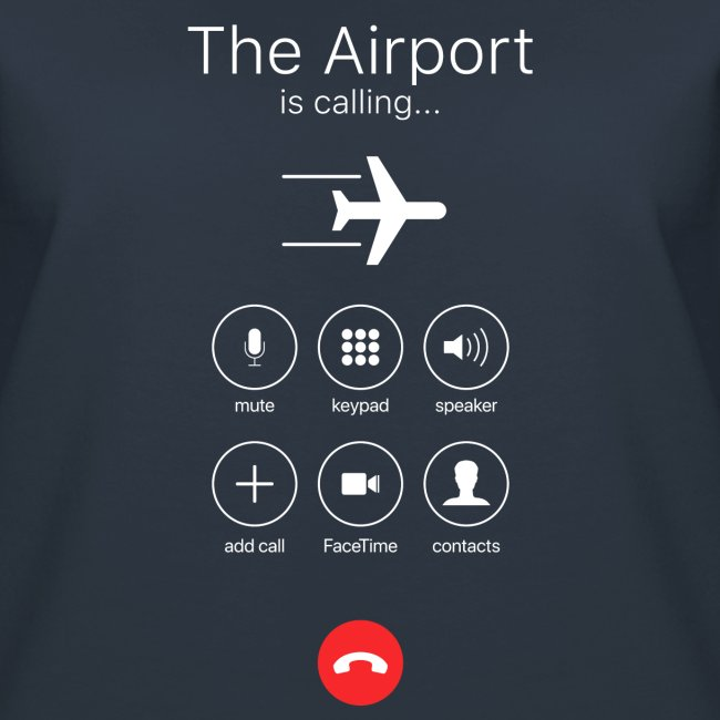 Lotnisko dzwoni - białe