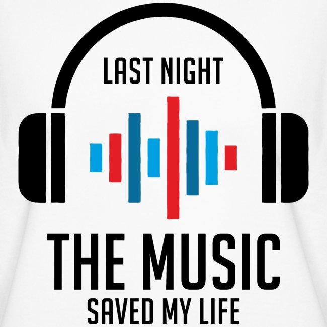 letzte Nacht rettete mir die Musik das Leben