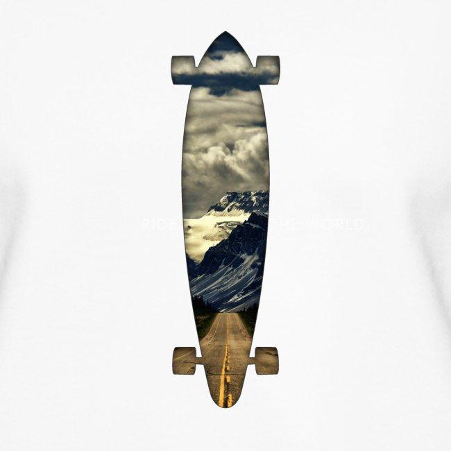 Longboard. Ride the World.