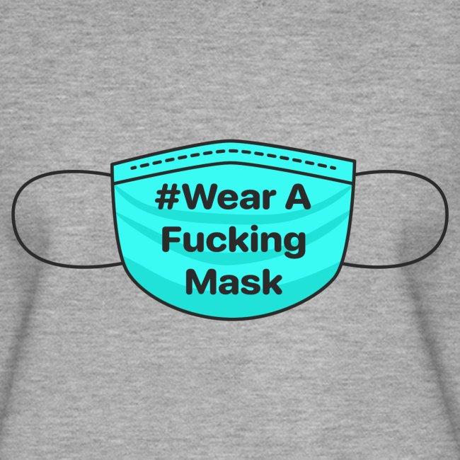 #WearAFuckingMask Black Earloops