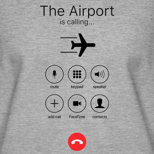 Lentokenttä soittaa - musta