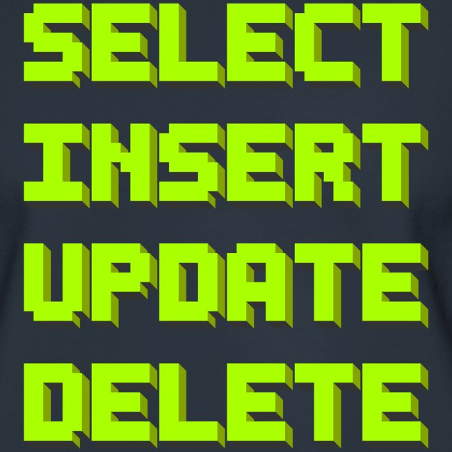 SQL pixelart black