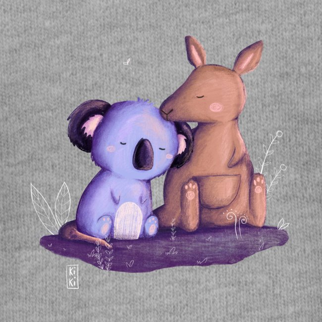 Koala und Känguru