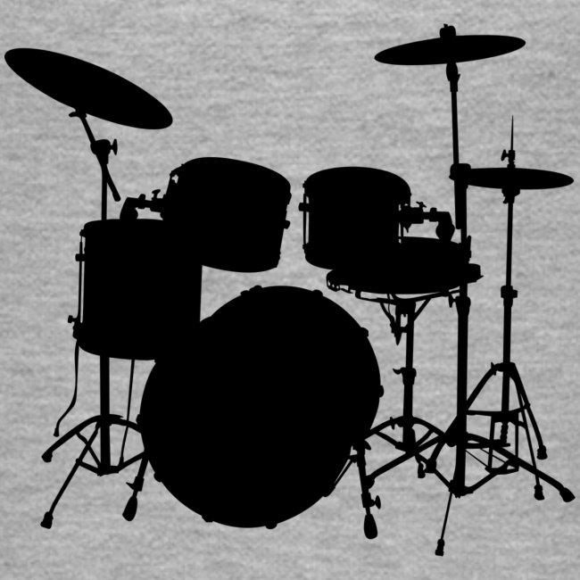 Bateria negro drums