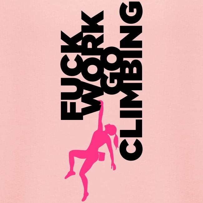 Go Climbing girl!