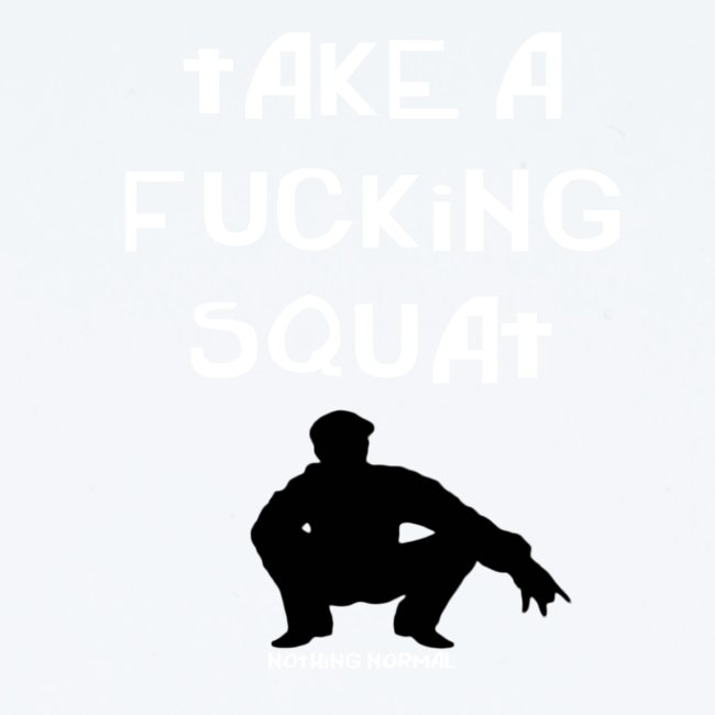 ''Take a squat'' Women's hoodie