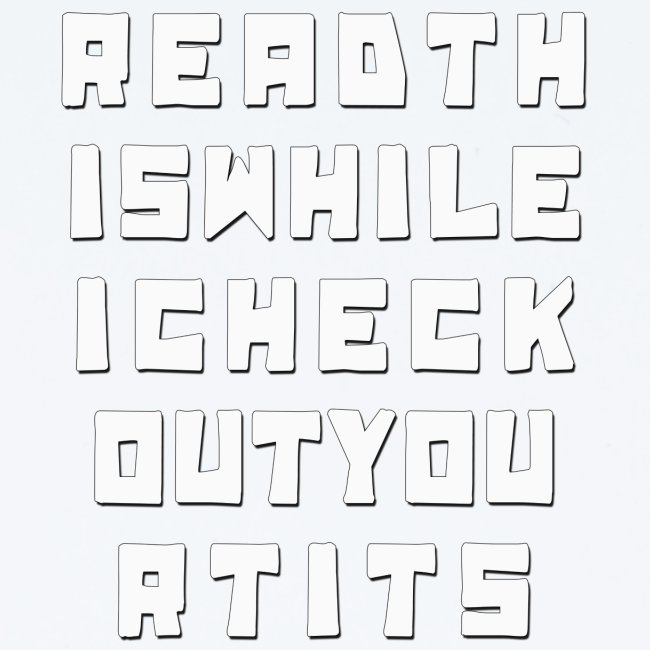 Readthiswhileicheckout
